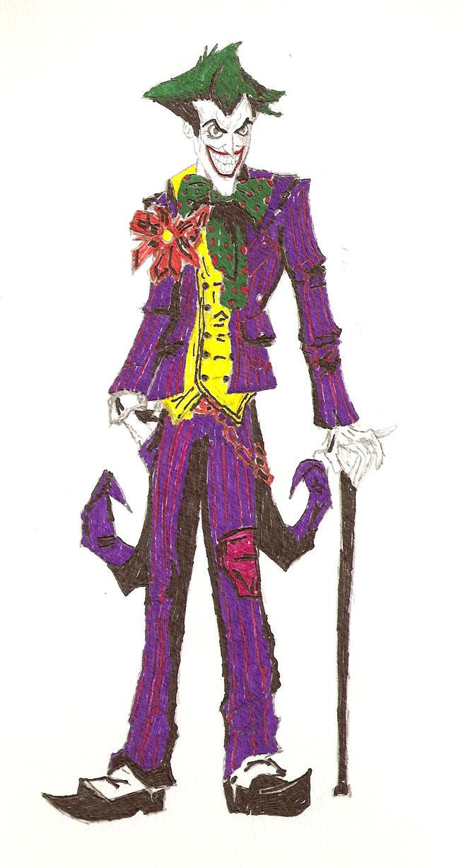 joker sketch 2 by kyo125