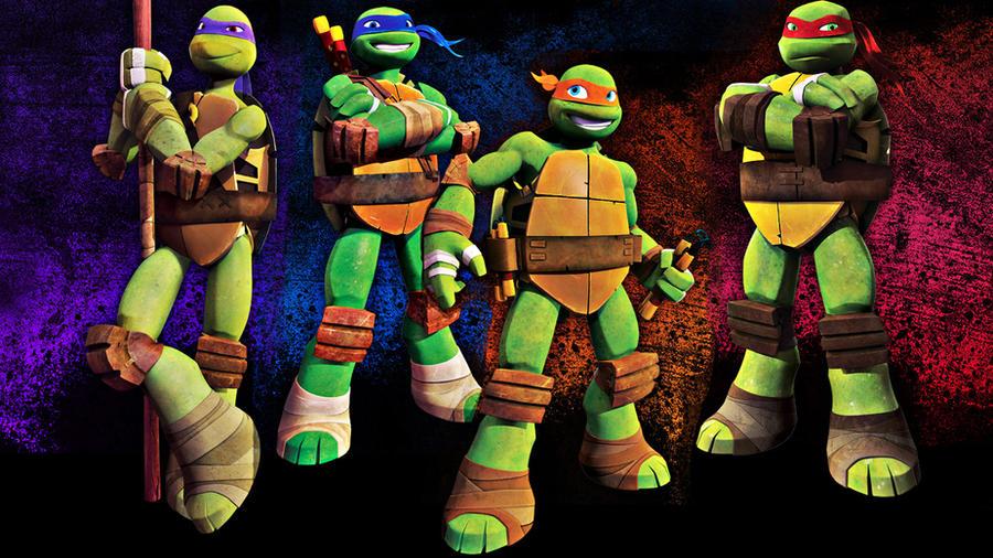 Teenage Mutant Ninja Turtles 2012 By Hyikate
