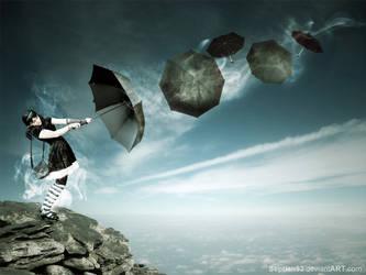 Umbrella Girl by septian93