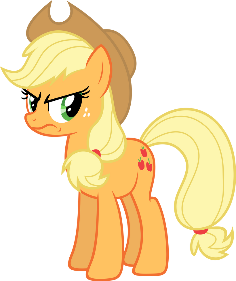 Applejack Angry by Synthrid