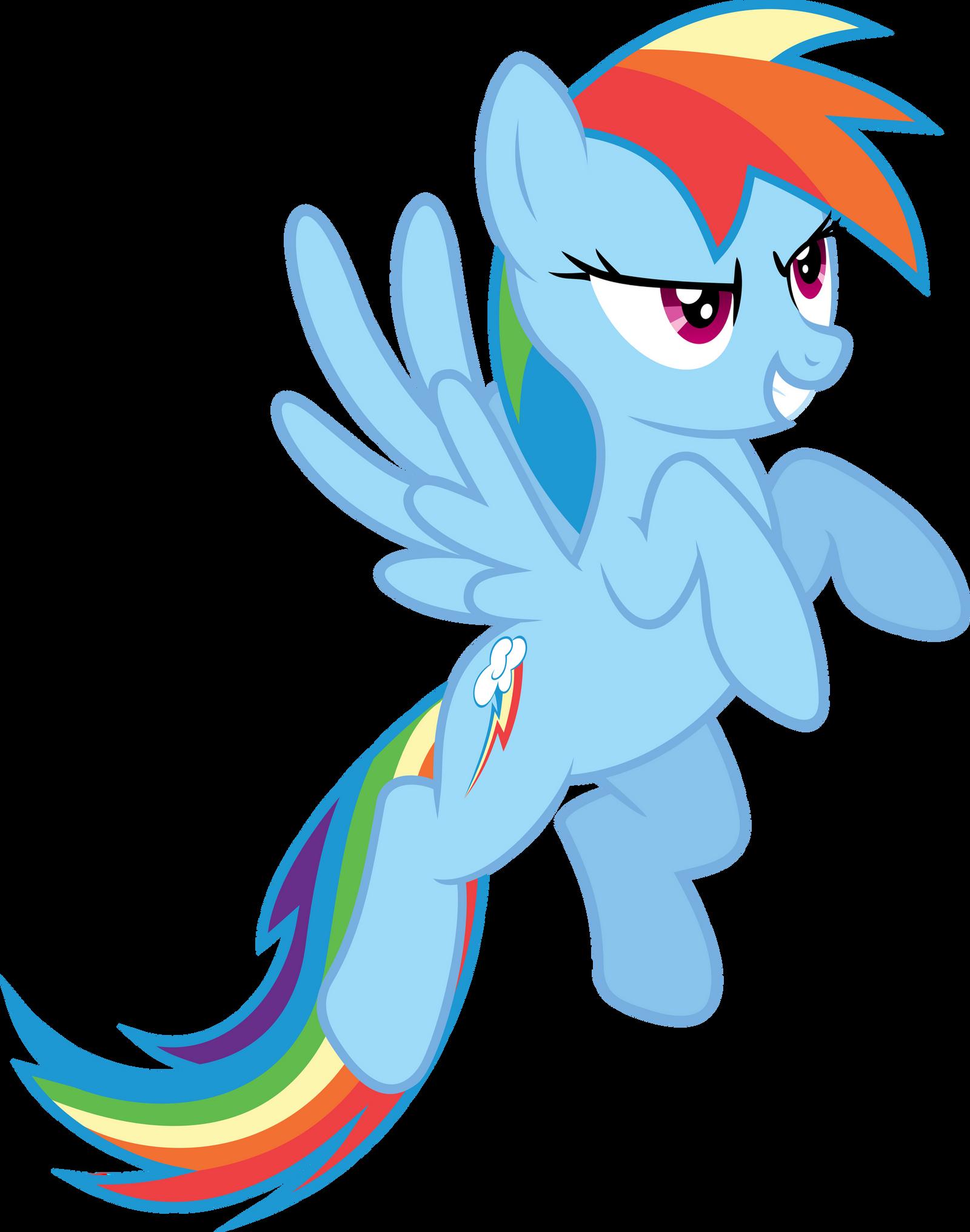 Rainbow Dash Determination by Synthrid