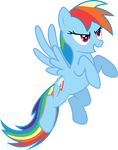 Rainbow Dash Determination