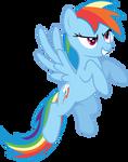 Rainbow Dash Determination