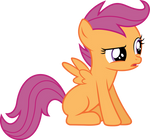 Skeptical Scootaloo