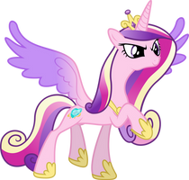 Princess Cadance - Strength by Synthrid