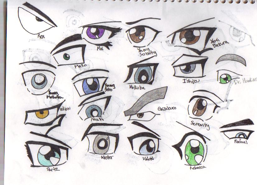 The Eyes Of Yu Gi Oh 2 By TigerLily601