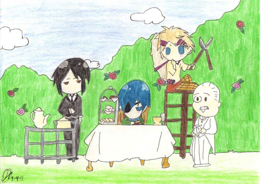 Black Butler Chibi End Credits By TigerLily601