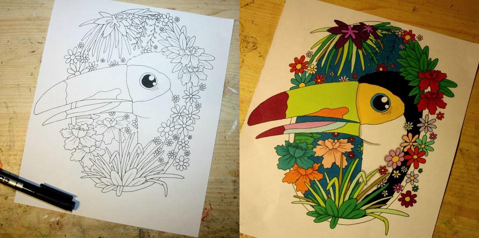Flowers and stuff by kameelperd