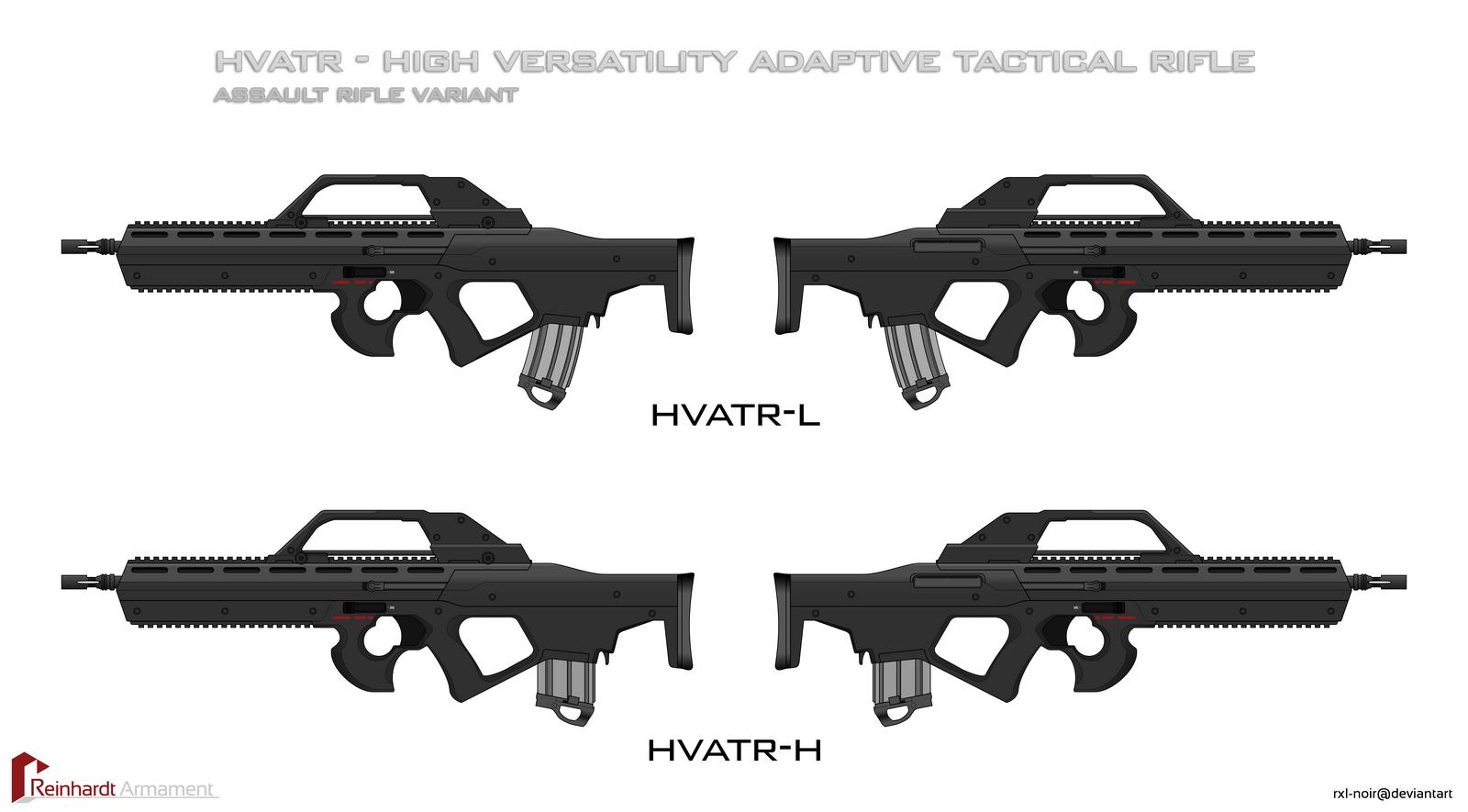 HVATR - Assault Rifle Variant by Rxl-Noir