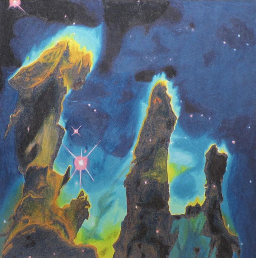 Eagle Nebula by r0ketman