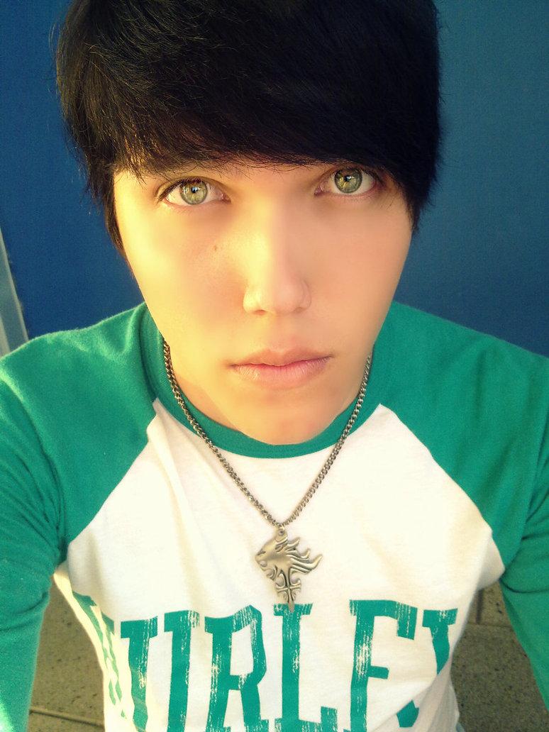 Green Eyes Cute Boy By Kevinneon D5jujet By Hypnoteen On Deviantart