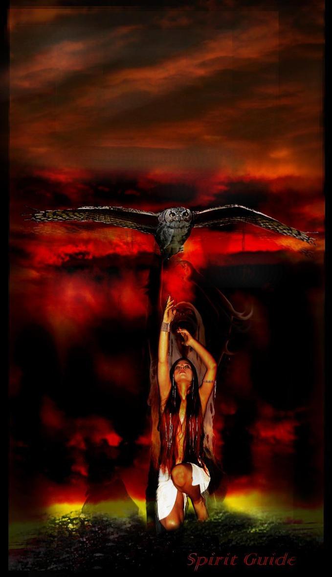 Spirit Guide II by bloody-batterfly