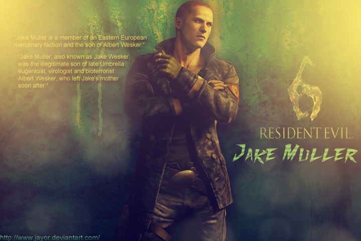 Resident Evil 6 - Jake Muller Info by JAYOR