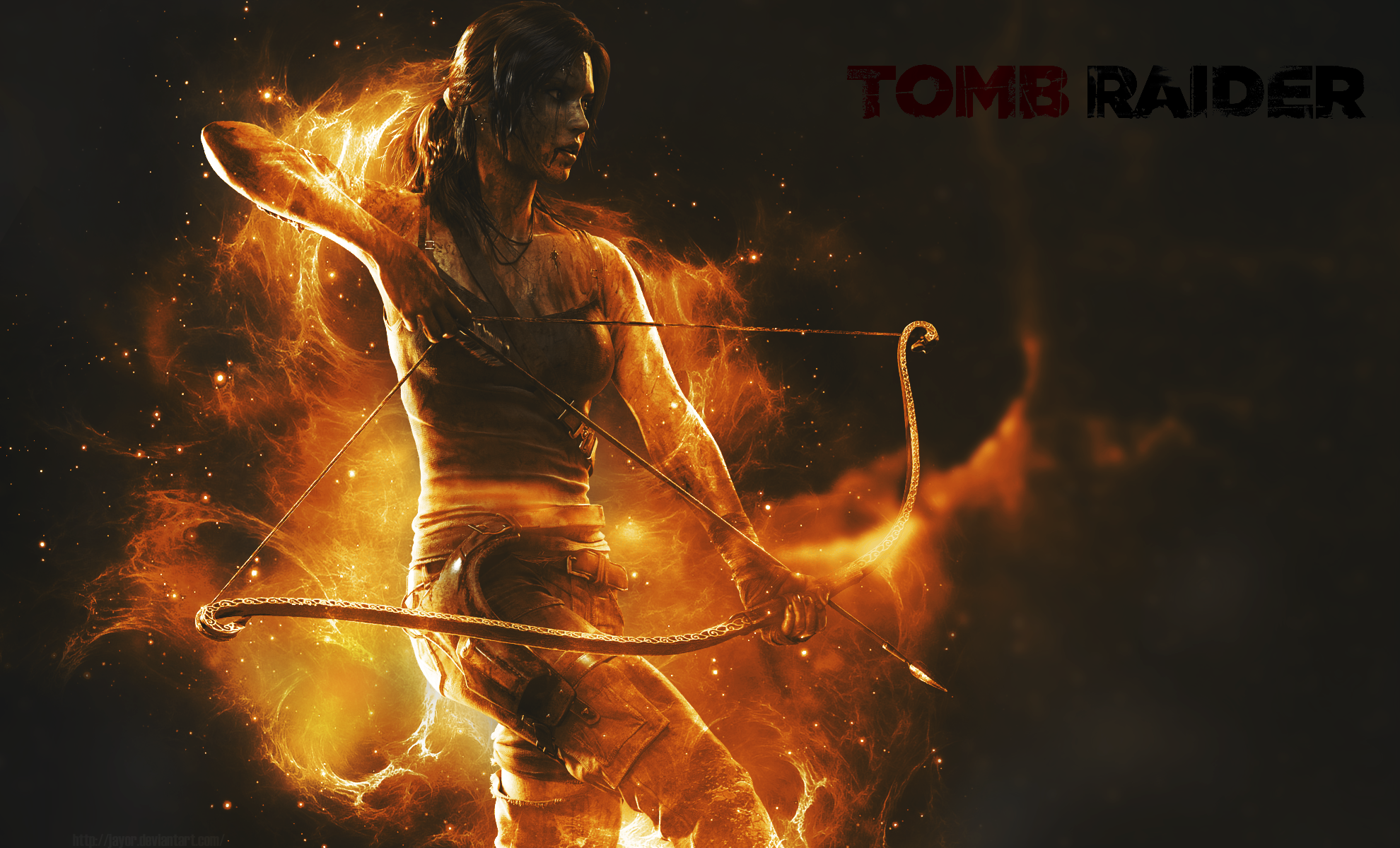 Tomb Raider 2013 Wallpaper: Tomb Raider 2013 Wallpaper By JAYOR On DeviantArt