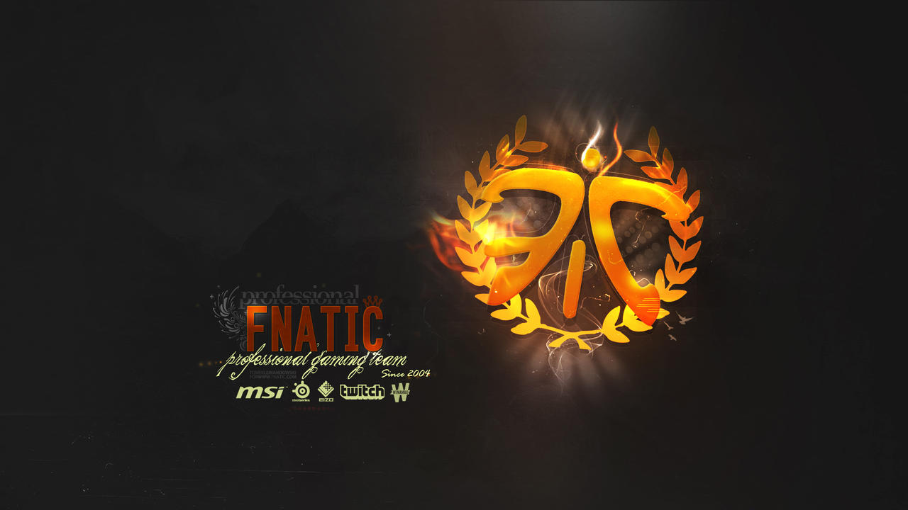 Fnatic 2.0 Wallpaper Logo - League of Legends by Aynoe on DeviantArt