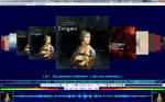 foobar2000 Chronflow - coverflow by stem75
