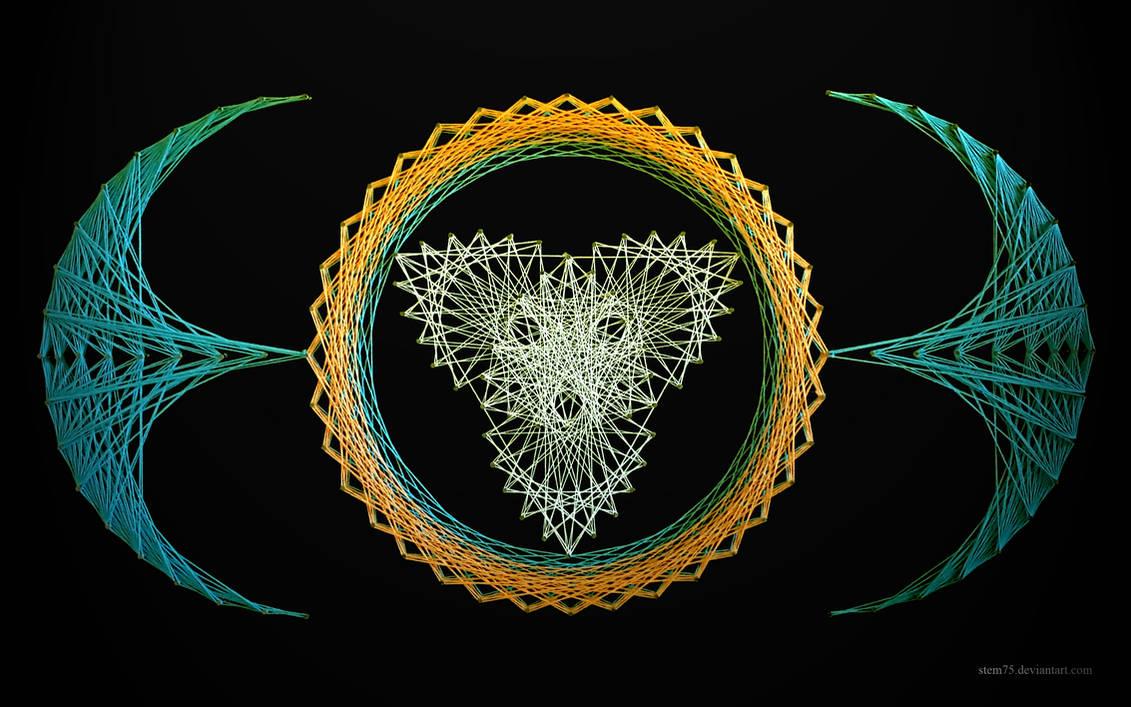 String art wallpaper 0002