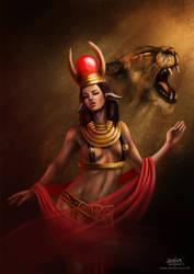 Hathor by javhiercruz