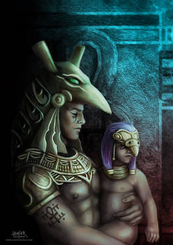 Horus Y Seth