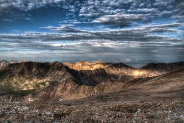 Top of Mt Democrat by elpez7