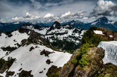 Mt. Dickerman by elpez7