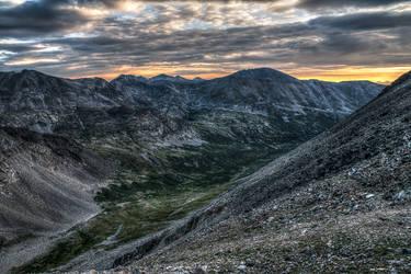 Mt Democrat looking north. by elpez7