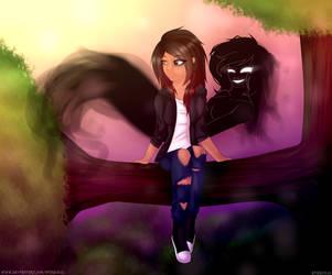 Esme and Ellie - Person Oc (+Speedpaint) by Sparkie45