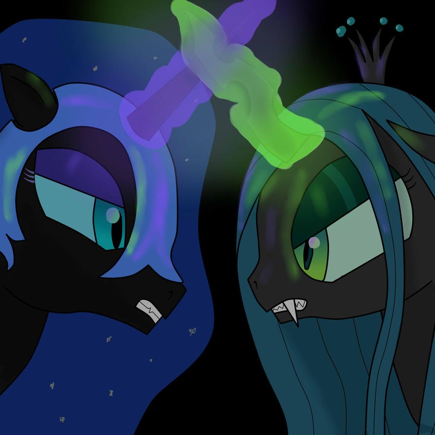 Nightmare Moon vs. Chrysalis