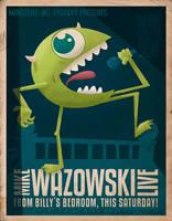 Mike Wazowski Live