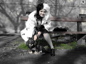 Cruella deVil and Teyla 2