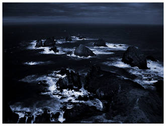 black ocean by justsunny