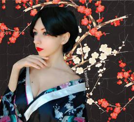 O - Robi / Geisha by kaorifrost