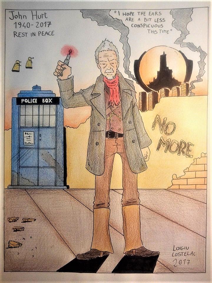 R.I.P. John Hurt as The War Doctor by loigiu