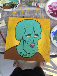 Handsome Squidward by Jimsterrox-Stuff