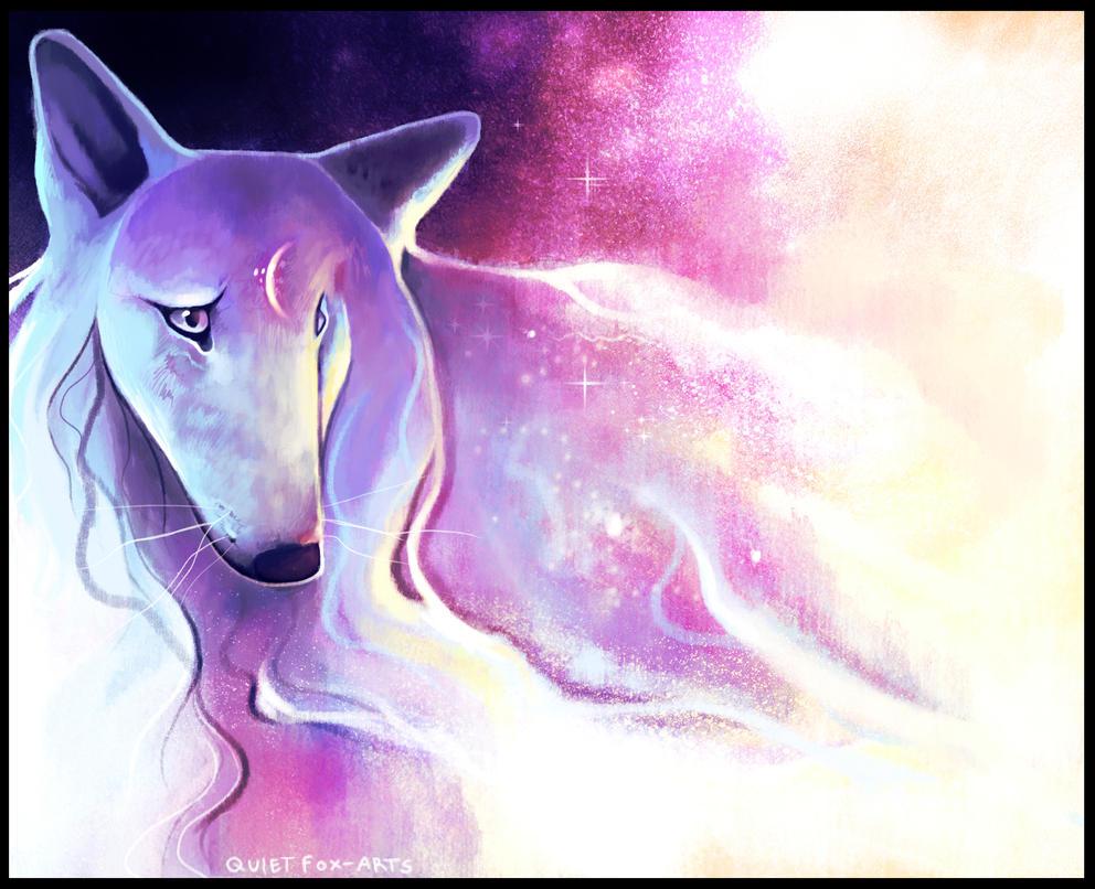 Born from Stardust by QuietFox-Arts