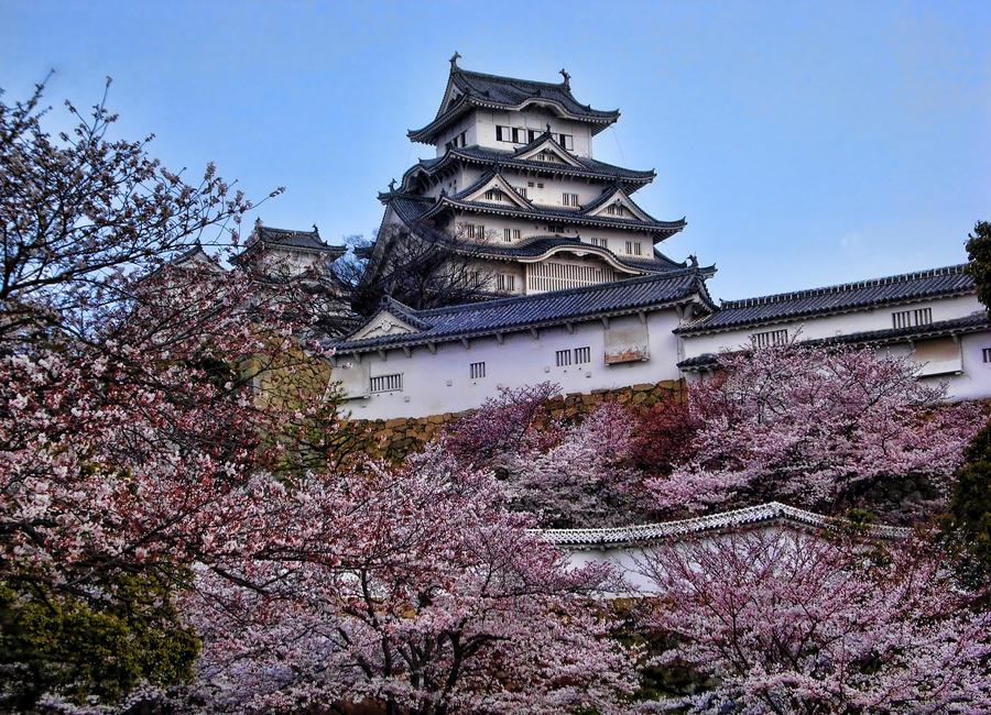 Himeji Castle by WooshaQ