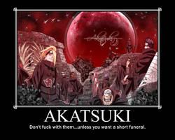 Akatsuki Motivational Poster by HidanFanGurl