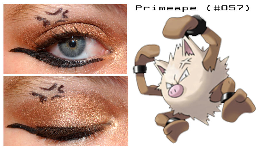 Pokemakeup 057 Primeape by nazzara