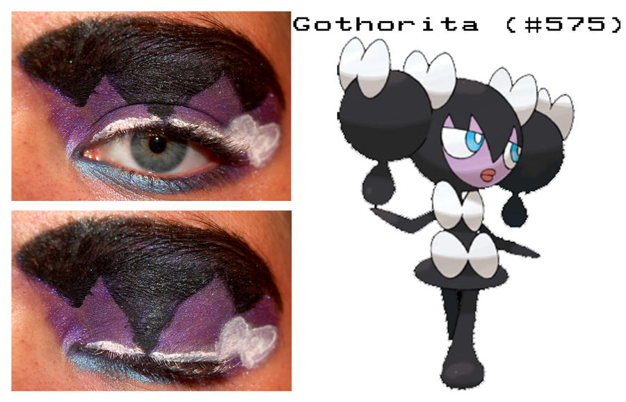 Pokemakeup 575 Gothorita by nazzara