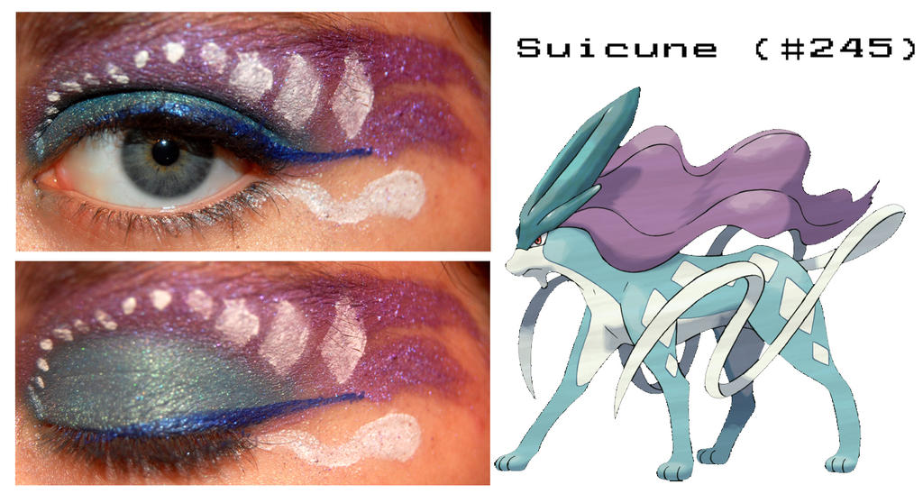 Pokemakeup 245 Suicune by nazzara