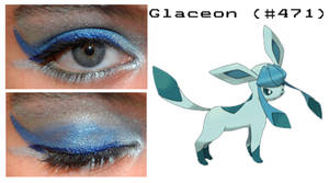 Pokemakeup 471 Glaceon by nazzara