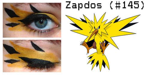 Pokemakeup 145 Zapdos