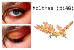 Pokemakeup 146 Moltres by nazzara