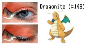 Pokemakeup 149 Dragonite by nazzara