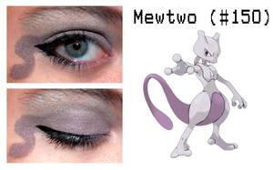 Pokemakeup 150 Mewtwo by nazzara