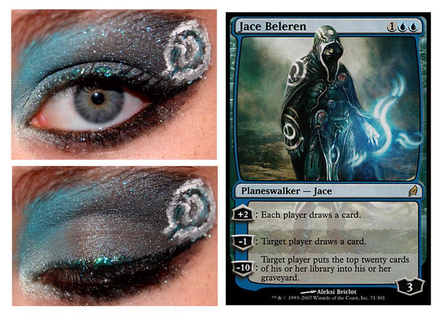 Magic Card Makeup: Jace Beleren