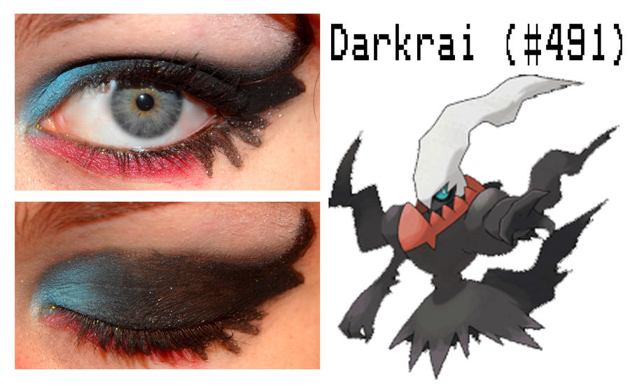 Idée de maquillage - Page 9 Pokemakeup_491_darkrai_by_nazzara-d4v8t0w