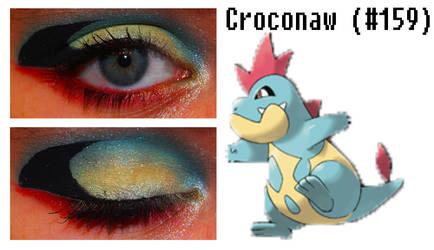 Pokemakeup 159 Croconaw by nazzara