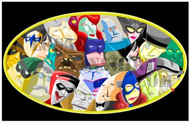 Batman by Logant