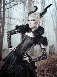 Demonic beauty by KalytriahAeterna